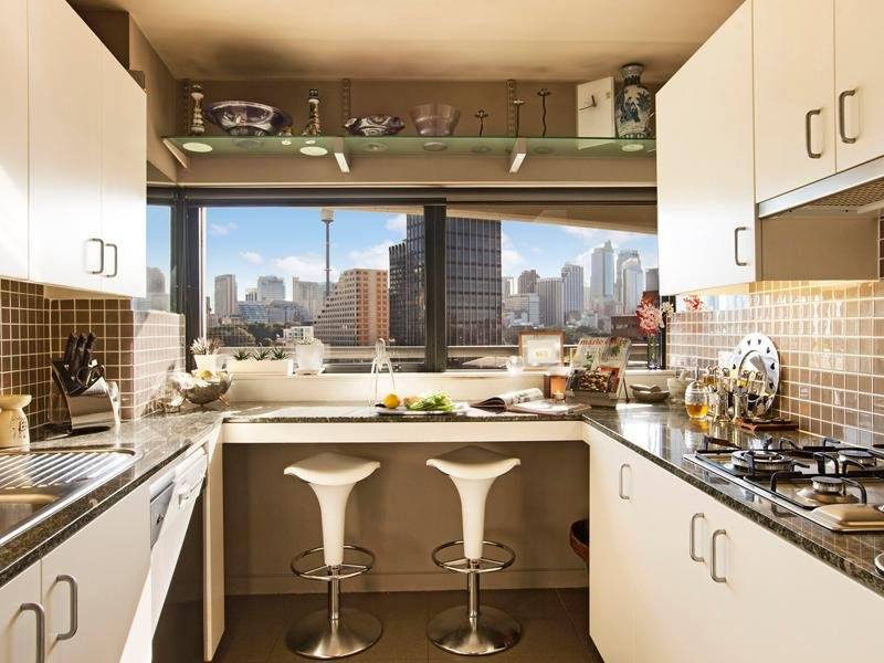 37 idee per una cucina all 39 americana for Grandi belle cucine