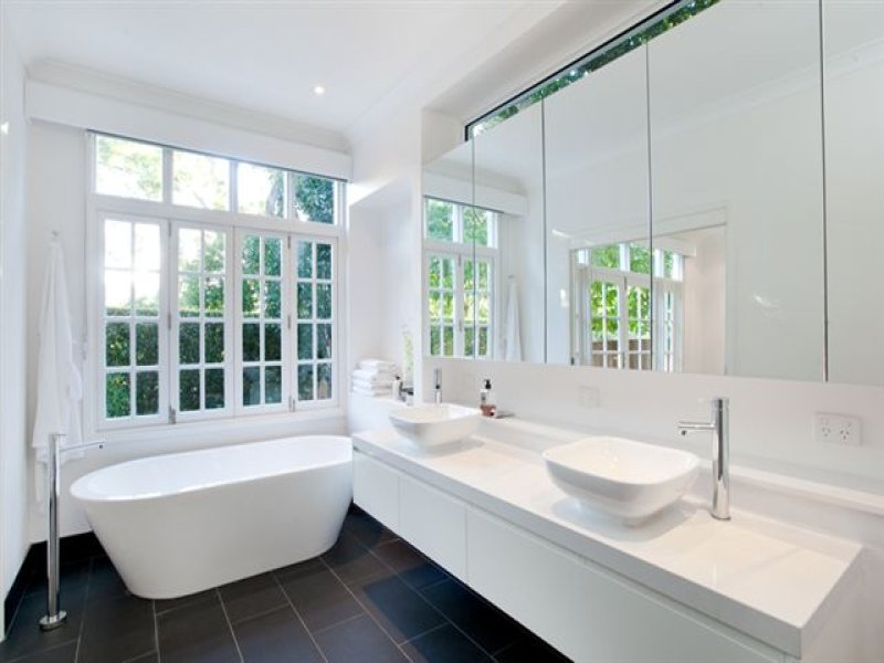Photo of a bathroom design from a real australian house for Australian home interior designs
