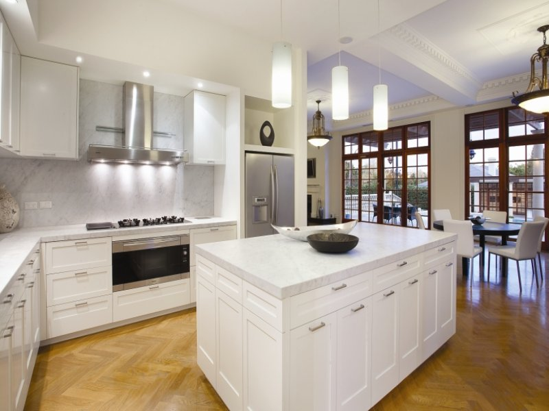 pendant lighting in a kitchen design from an australian home