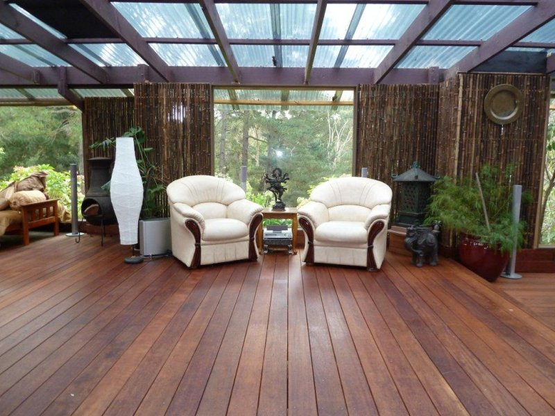 how to build a covered deck on real time landscape