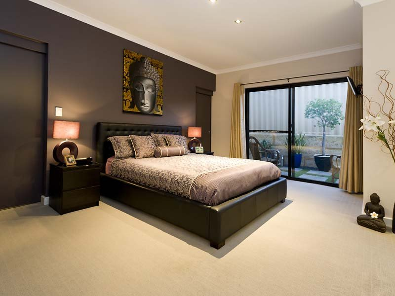 Grey bedroom design idea from a real australian home for Bedroom rooms ideas