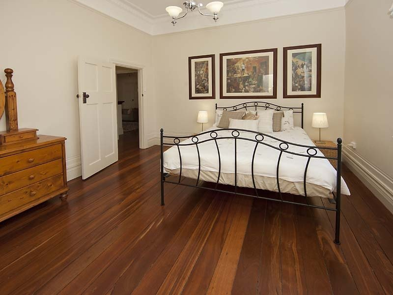Brown bedroom design idea from a real Australian home - Bedroom photo 243943