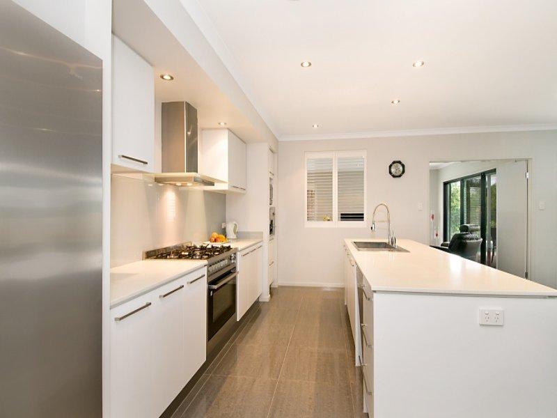 Modern Galley Kitchen Design Using Granite Kitchen Photo 351220