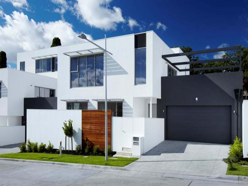 Photo of a concrete house exterior from real Australian home - House Facade photo 246259