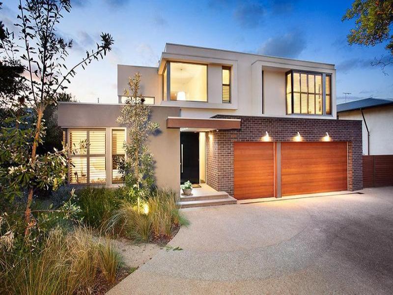 Photo Of A Concrete House Exterior From Real Australian Home House Facade P