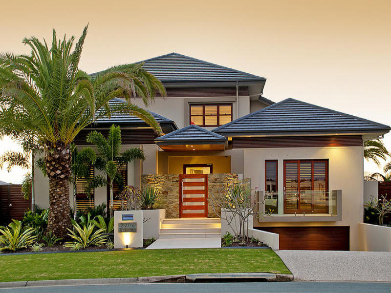 Photo Of A Pavers House Exterior From Real Australian Home House Facade Pho