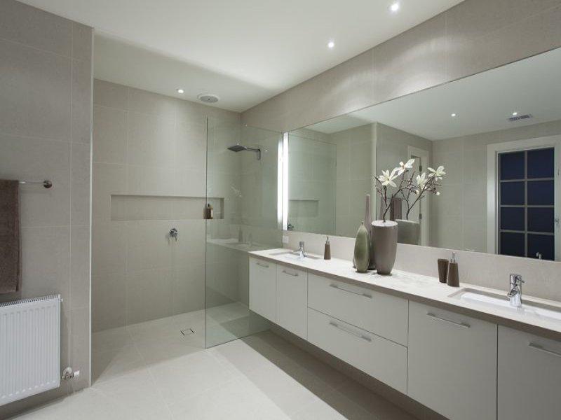 frameless glass in a bathroom design from an australian