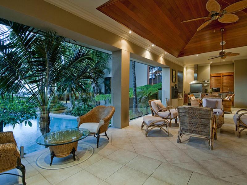 Indoor Outdoor Outdoor Living Design With Pool