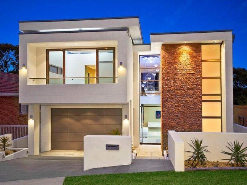 Fachadas de casas bonitas e modernas fachadas de casas for Casas pequenas y bonitas de un piso