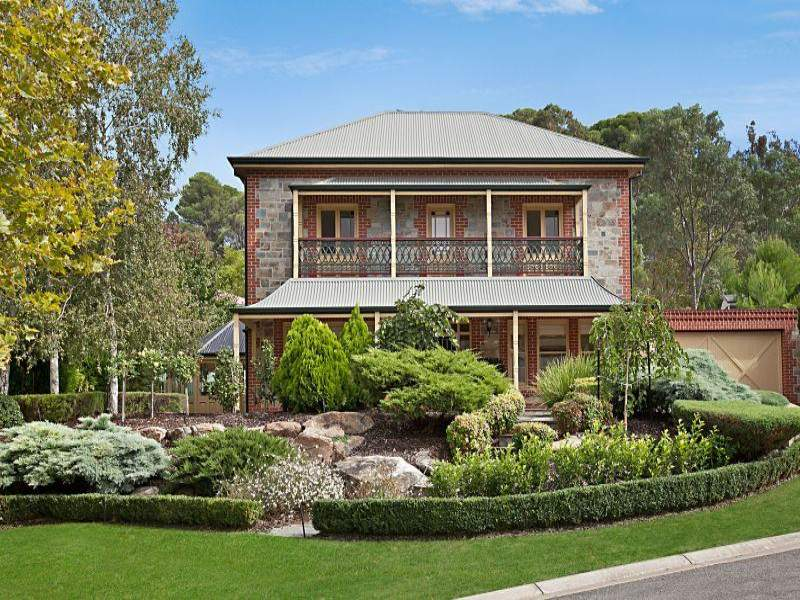 Photo of a stone house exterior from real Australian home - House ...