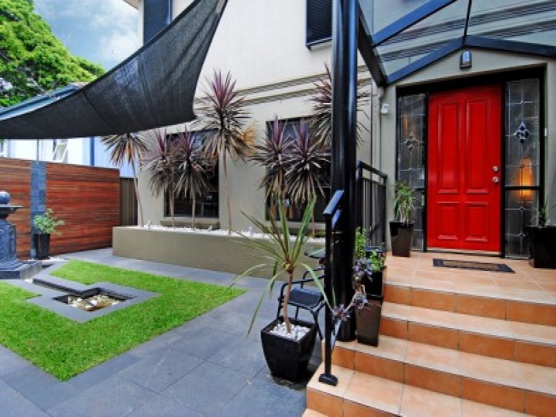 Garden Design Using Grasses maintenance garden design using grass with retaining wall & shade