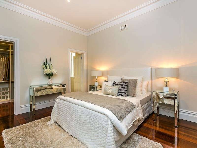 cream bedroom design idea from a real australian home