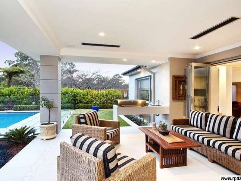 outdoor living design with pool from a real australian