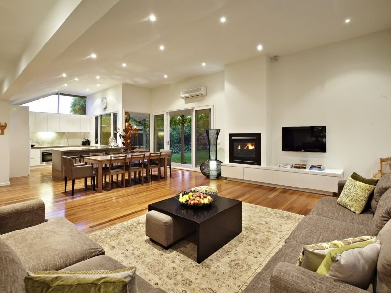 Photo of a living room idea from a real australian house for Living area design ideas