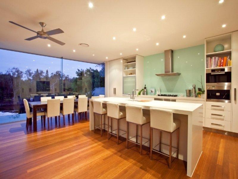 Classic Kitchen Dining Kitchen Design Using Floorboards