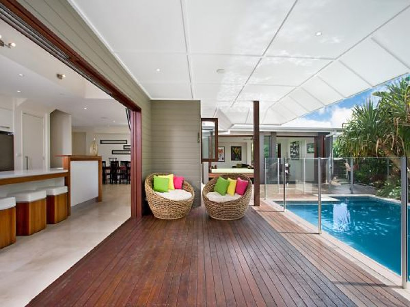 Photo of a in ground pool from a real australian home for Pool area designs