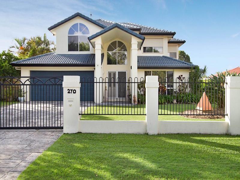 Photo of a concrete house exterior from real australian - Casas estilo americano ...
