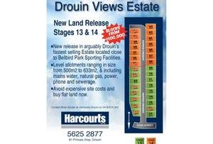 Stage13&14 Drouin Views Estate, Drouin, Vic 3818