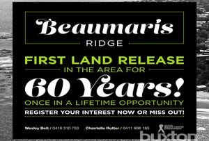 Beaumaris, address available on request