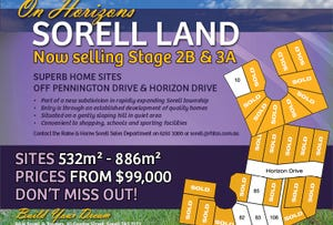 2B & 3A On Horizons, Sorell, Tas 7172