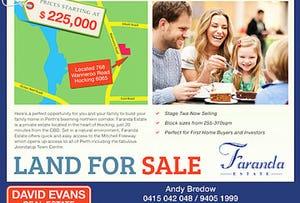 Lot 71 Faranda Estate, Hocking, WA 6065