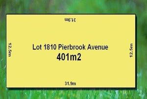 LOT 1810 Pierbrook Avenue, Wyndham Vale, Vic 3024