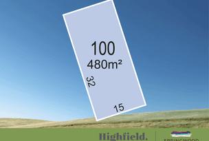 Lot 100, Highfield, Gawler East, SA 5118