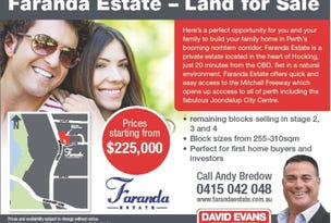 Lot 85 Faranda Estate, Hocking, WA 6065