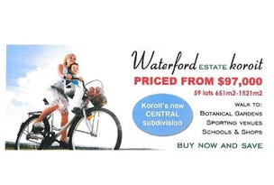 Cnr Waterford Estate, Koroit, Vic 3282