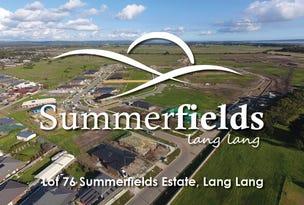 Lot 76, Summerfields Estate, Lang Lang, Vic 3984