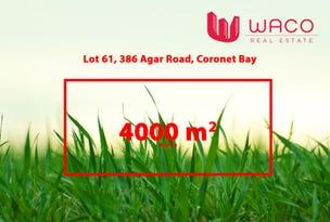 Lot 61, 386 Agar Road, Coronet Bay, Vic 3984