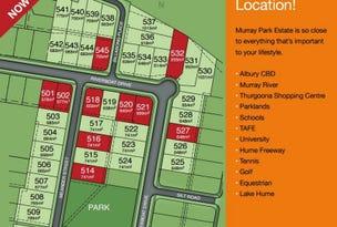 Lot 538 Billabong Place, Thurgoona, NSW 2640