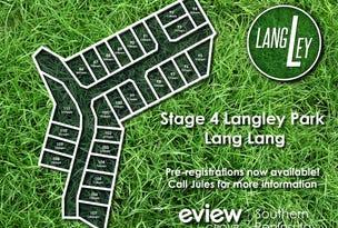 Stage 4 Langley Park, Lang Lang, Vic 3984