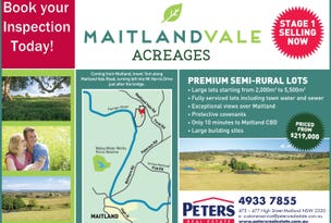 Lot 110 Mount Harris Drive, Maitland Vale, NSW 2320