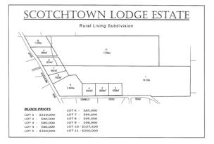 - Upper Scotchtown Road/Connells Cross Road, Scotchtown, Tas 7330