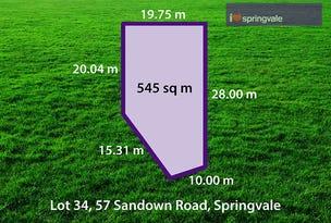 55 (Lot 34) Moishe Circuit, Springvale, Vic 3171