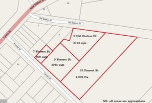 7,9 &15 Forrest Street & 9 Old Station Street, Cressy, Vic 3322