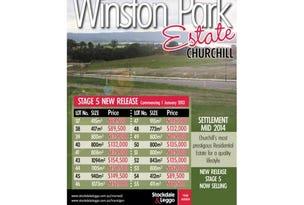 Stage 5 Winston Park, Churchill, Vic 3842