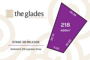 Lot 218 Cypress Drive, Parafield Gardens, SA 5107