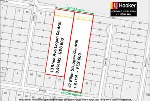47 Ellen Street  & 13 Rhea Avenue, Logan Central, Qld 4114