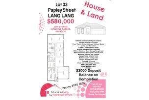 LOT 33 PAPLEY STREET, Lang Lang, Vic 3984