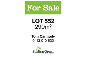Lot 552, 31 Adriatic Lane, Stirling, WA 6021
