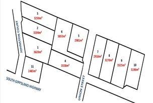 1-11 Johnston Court & Union St, Bena, Vic 3946