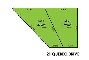 Lot 1 & 2, 21 Quebec Drive, Modbury Heights, SA 5092