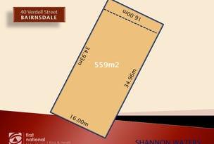 Lot 351 40 Verdell Street, Bairnsdale, Vic 3875