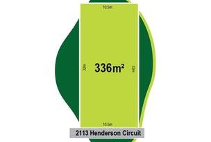 Lot 2113 (46) Henderson Circuit, Aintree, Vic 3336