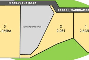 Lot 1 2 and 3, 1 2 and 3 N Graylans Road, Cobden, Vic 3266