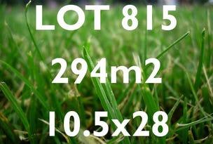 Lot 815, Harker Esplanade, Habitat on Davis Creek, Tarneit, Vic 3029
