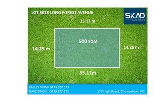 Lot 3028 Long Forest Avenue, Melton West, Vic 3337