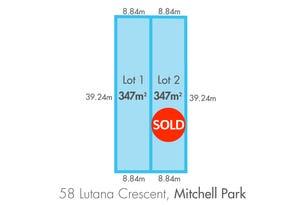 Lot 1-58 Lutana Crescent, Mitchell Park, SA 5043